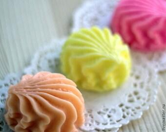 """Natural Handmade Sweet Candy """"Zefir"""" Soap"""