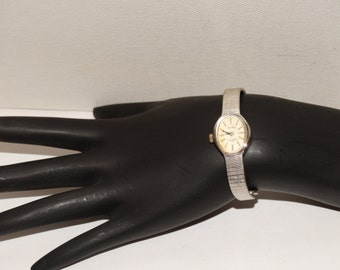 "Free Shipping Vintage Jules Jurgensen 6"" Quartz Watch."