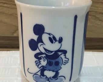Vintage Tea Cup Tokyo Disneyland Mickey Mouse from Japan