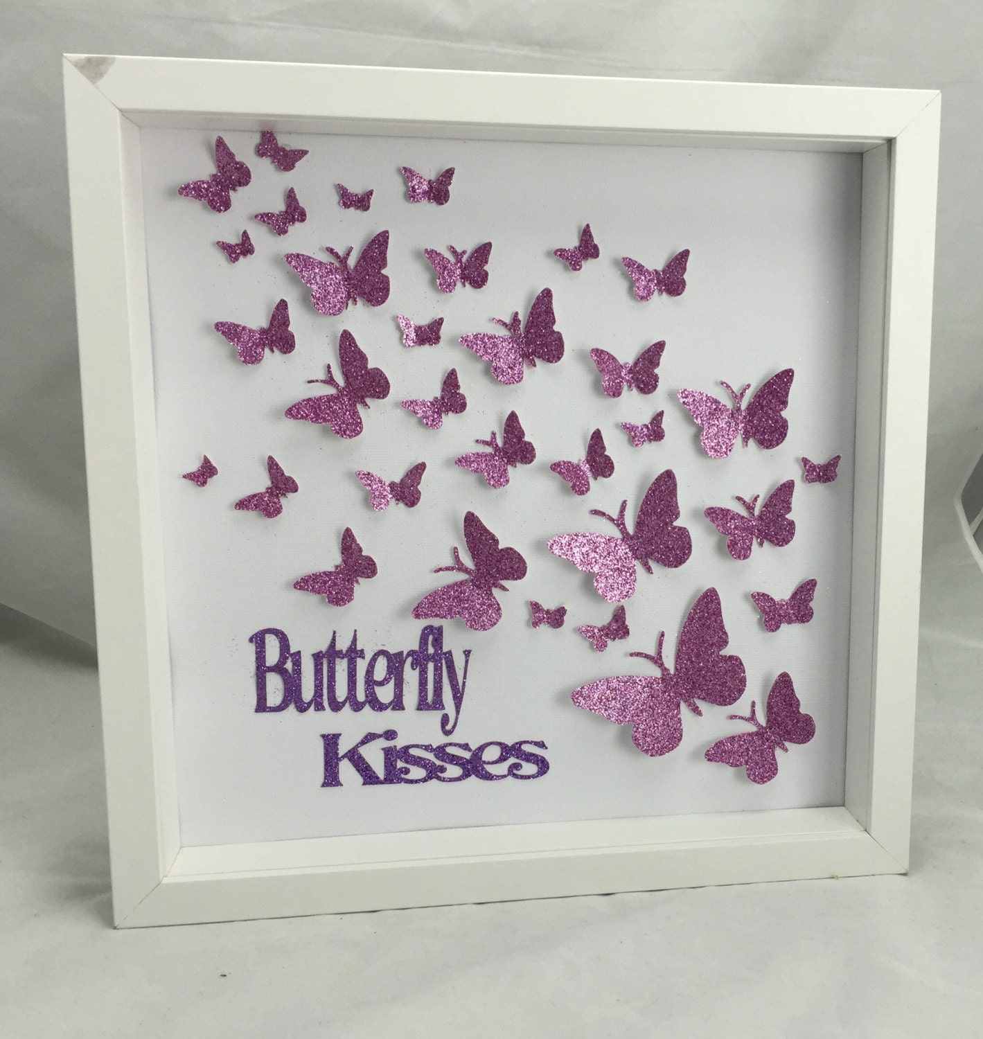 Paper Butterfly 3d Wall Art