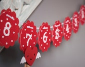 Valentine Day Countdown Banner/Craft Kit