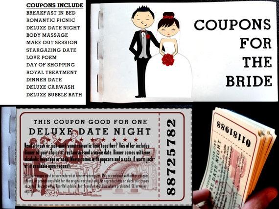 Bride Wedding Coupons 2
