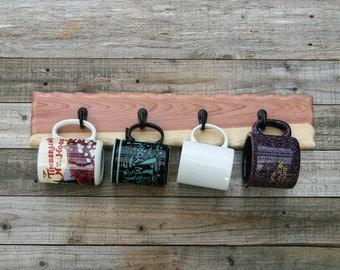 Coffee Mug Holder, Cup Rack, Coffee Mug Storage, Towel Rack, Key Hooks, Leash Holder