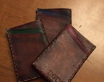 Slimline cardholder wallet