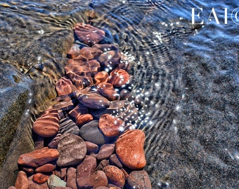 Lake Superior/Duluth/waves crashing/shore/lakes/water/great lakes/zen/wall art/rocks/sculpture/nature photography