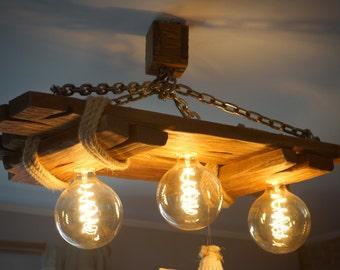 Edison chandelier   Etsy