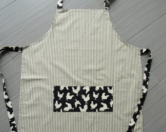 Apron - Rooster and chicken