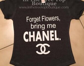 Chanel Tshirt Etsy