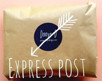 Express Post within Australia