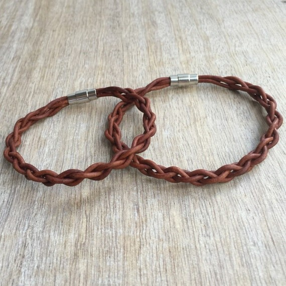 Couples Leather Bracelets His and her Bracelet Couples