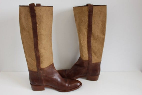 Simple Brown Boots For Women Ebay Justin Womens 9 Brown Leather Cowboy