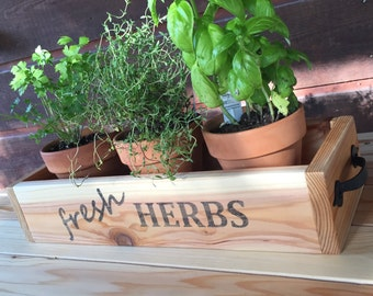 & Herb planter | Etsy Aboutintivar.Com