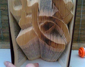 Military Folded Book Art