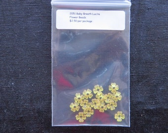 Baby Breath Flowers - Yellow 2051A