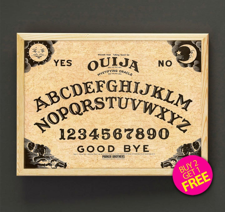 It is an image of Critical Printable Ouija Board