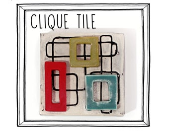 Clique Tile (rectangles and squares)