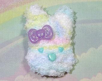 Sweet Lolita Hair Clip, Fairy Kei Hair Clip, Pop Kei Hair Clip, Kawaii Bunny Clip