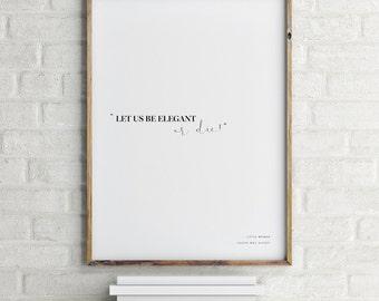 Little Women Print, Little Women Quote Poster, Literary Quote Print, Literary Art, Decor Print