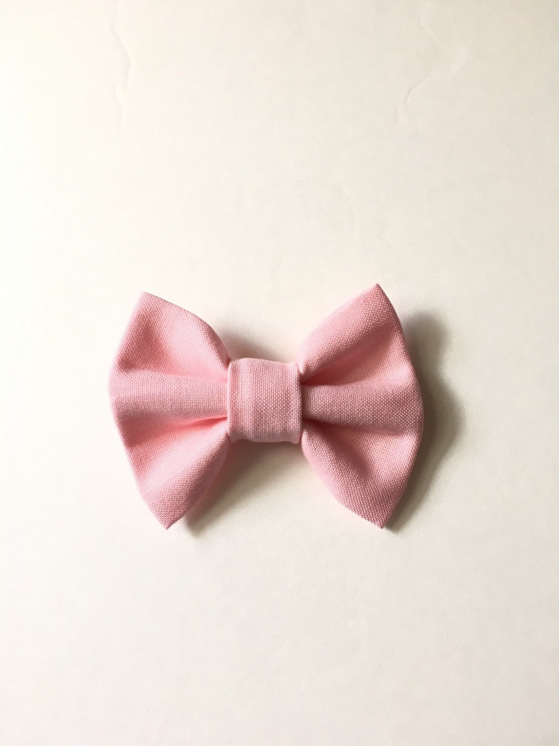 baby bow tie baby hair bow light pink bow tie light pink