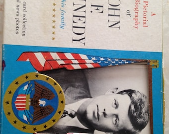 John F. Kennedy and His Family Historical 41 Photocards original box
