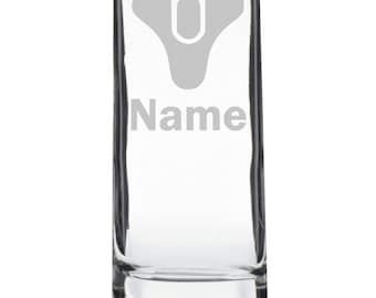 Etched Destiny Personalised High-Ball Glass
