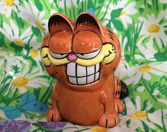 Ceramic Garfield Cat Figurine by Enesco