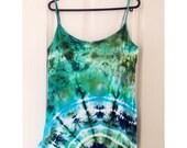 Tie Dye Ladies Cami/Yoga Top UK size 18-20