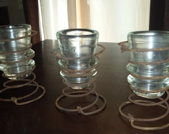 Hand Made Candle Holders