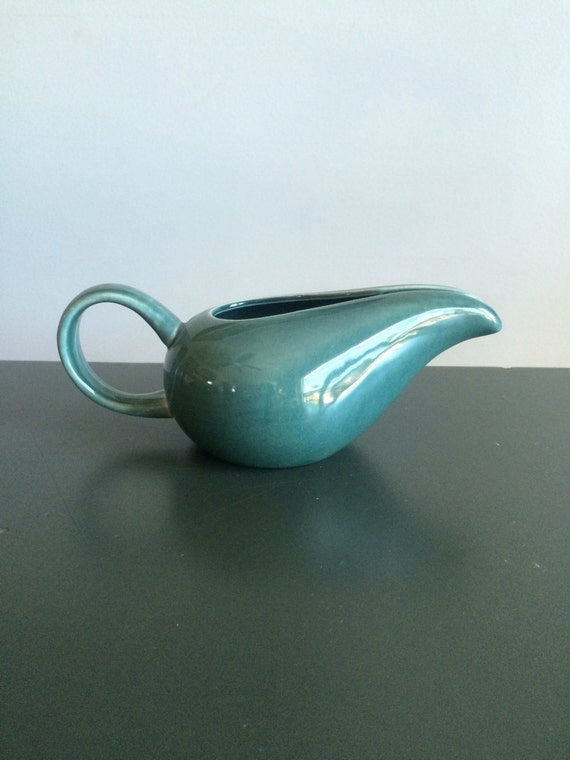 Russel wright american modern seafoam blue creamer pitcher - Russel wright pitcher ...