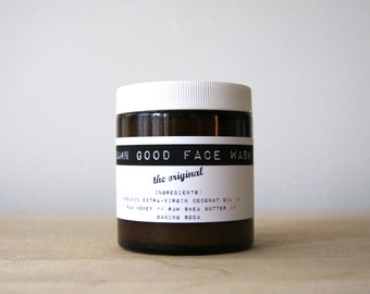 Damn Good Face Wash // The Original -- 100% natural • sensitive • nourishing • soap-free cleanser