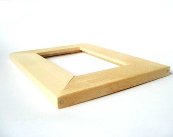 Photo frame, Clear frame, Non painted, Wooden unfinished frame, Eco-Friendly Wood, Ready to Paint, Wooden Supplies