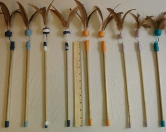 Feather Wand Cat Toys