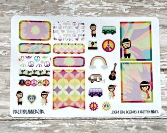 Peace, Love & Hippies Sampler Set