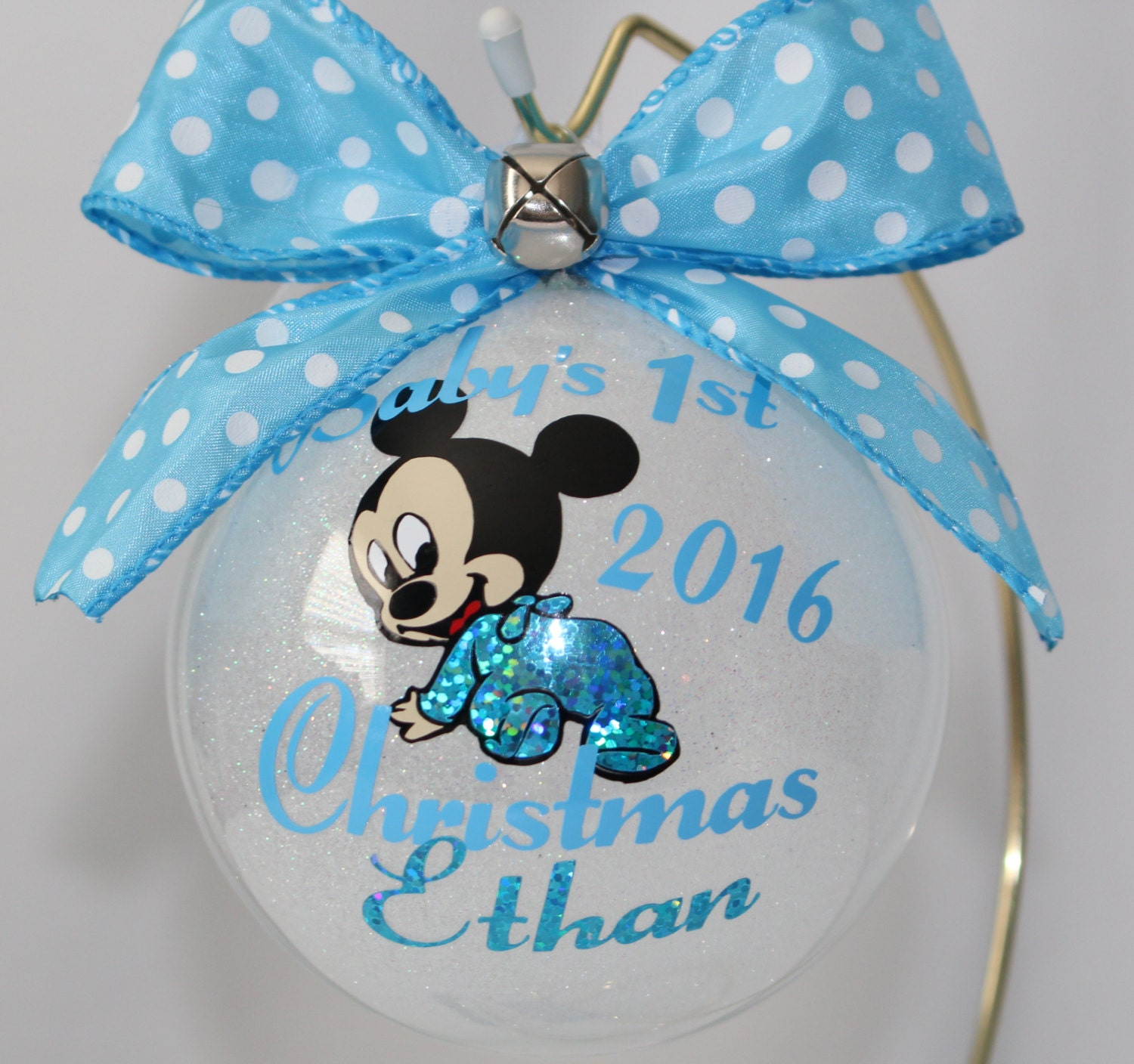 Personalized Baby S 1st Christmas Ornament