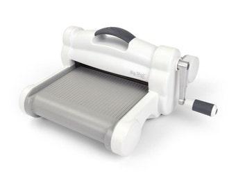 Sizzix Big Shot Plus Machine Only (White & Gray) #660340
