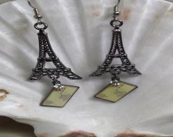 Eiffel Tower earrings (ER020)