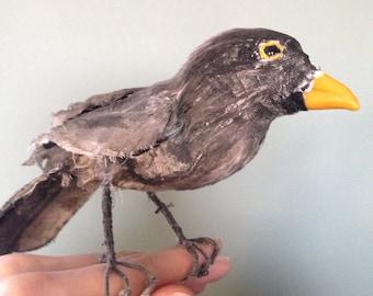 Textile blackbird