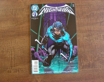 Nightwing #1 (1996), Condition Guaranted VF or better, Chuck Dixon, Scott McDaniel
