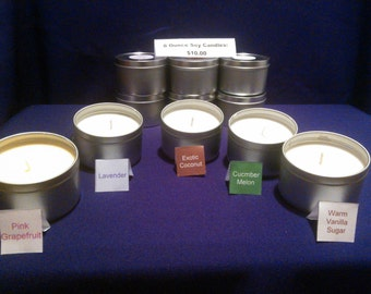 8 Ounce Soy Candles!