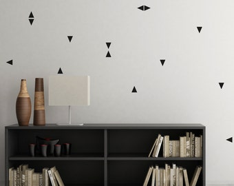 Kit of stickers wall triangles color choice