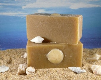 Banana Yogurt Soap  / Unscented Soap, Facial Soap, Fragrance Free Soap, Dry Skin Soap, Natural Face Soap, Mature skin, Handmade soap