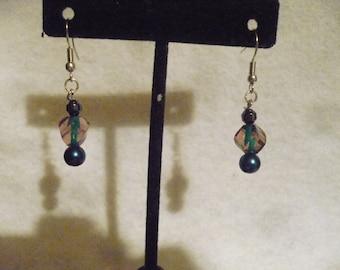 Plutonian fantasy earrings