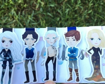 Assassin and Co. Magnetic Bookmarks