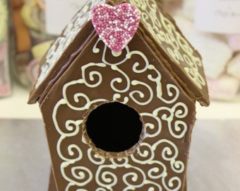 Belgian Chocolate Birdhouse