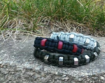 3 for 20 dollars Cobra Hex Nut Bracelet