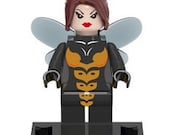 The WASP 2016 version Custom Minifigure 100% Lego Compatible! Marvel Comics Avengers Character