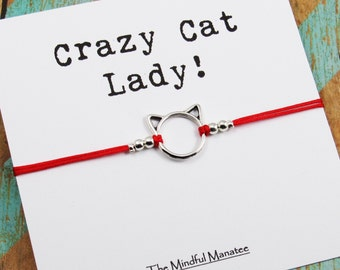 """Shop """"crazy cat lady"""" in Jewelry"""