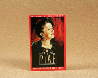 Edith Piaf - The Voice of the Sparrow: The Very Best of Edith Piaf Cassette Tape - Capitol Records - Near Mint Condition