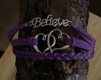 Crohn's Disease Awareness Bracelet