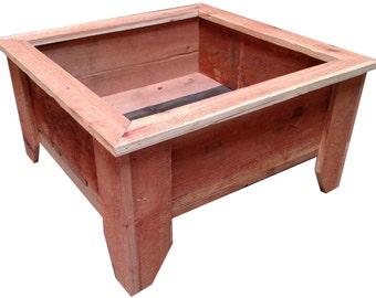 Rustic Short Leg Planter Box TWB24SLT